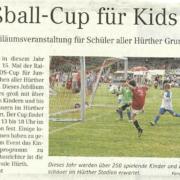 Kids-Cup Pressebericht 2018